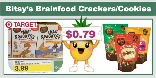 Bitsy's Brainfood Cookies & Crackers