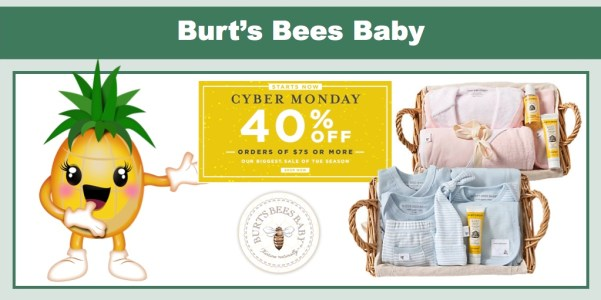 Burt's Bees Cyber Monday Sale