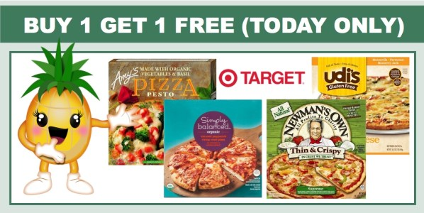 Buy 1 Get 1 Free Frozen Pizza at Target