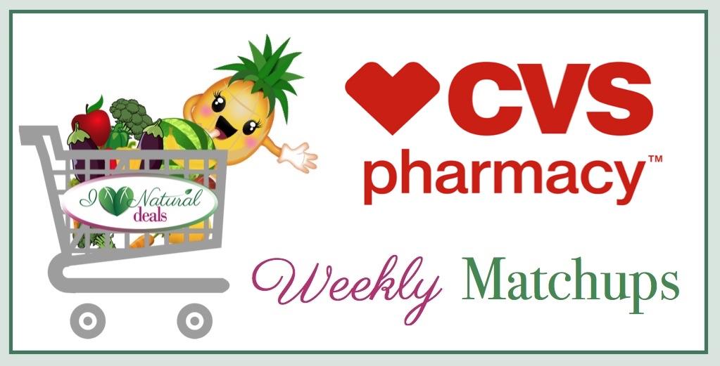 Cvs Weekly Sales And Coupon Matchups I Heart Natural Deals