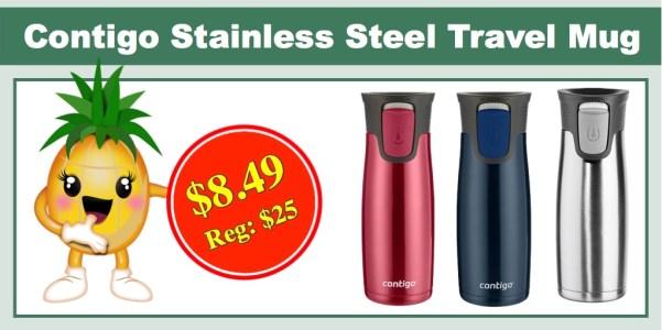 contigo stainless steel travel mug