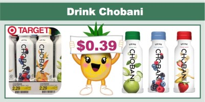 Drink Chobani Coupon Deal