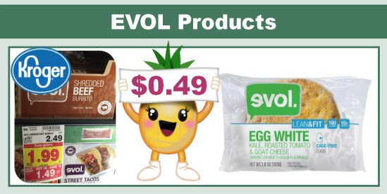 EVOL Products Coupon Deal