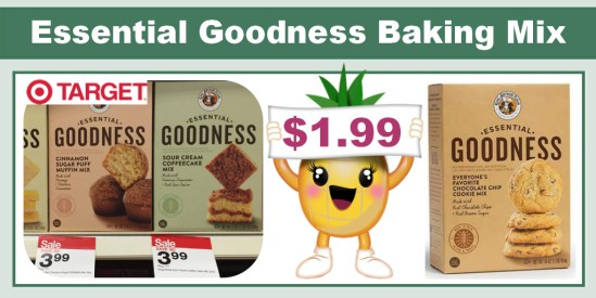 Essential Goodness Baking Mix Coupon Deal