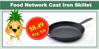 Food Network 12″ Cast Iron Skillet