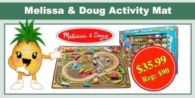 melissa & doug activity mat