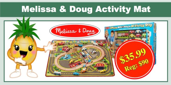 melissa & doug activity mat