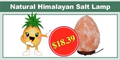 Natural Himalayan Hand Carved Salt Lamp