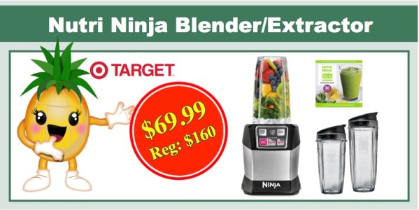 Nutri Ninja Auto iQ Pro Complete Personal Blender/Extractor