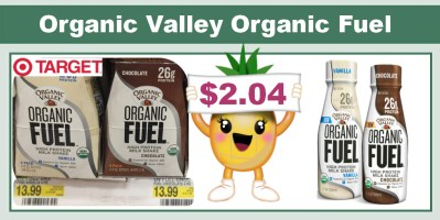 Organic Valley Organic Fuel Protein Shake Coupon Deal