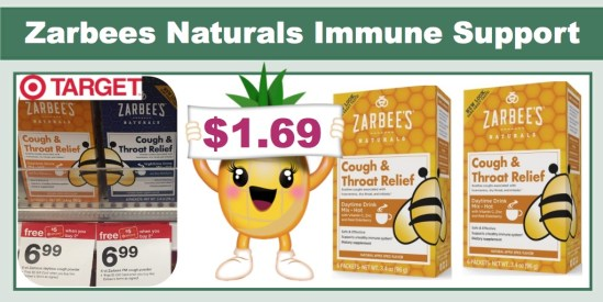 zarbees naturals immune support coupon deal