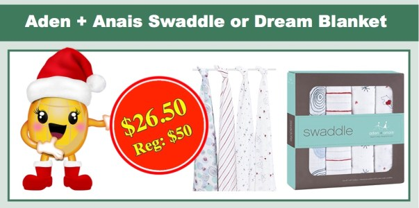 Aden + Anais Swaddle or Dream Blanket