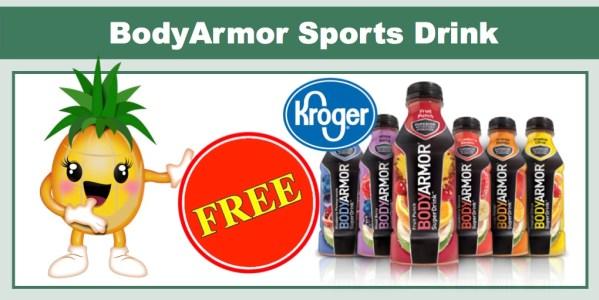free bodyarmor sport drink