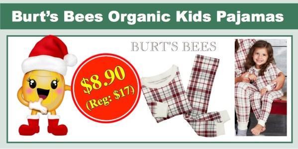 Burt's Bees Organic Kids Pajamas