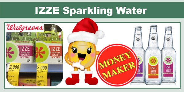 IZZE Sparkling Water Coupon Deal
