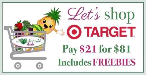 Let's Shop Target 120916