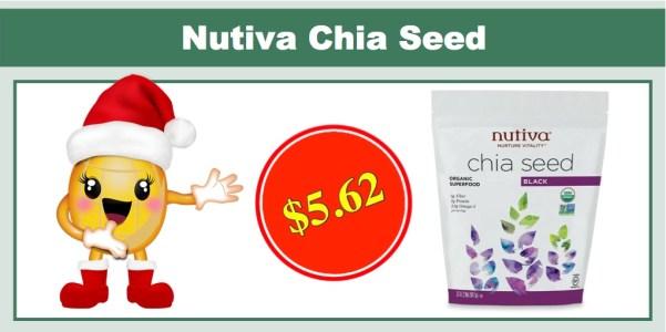 Nutiva Black Chia Seeds
