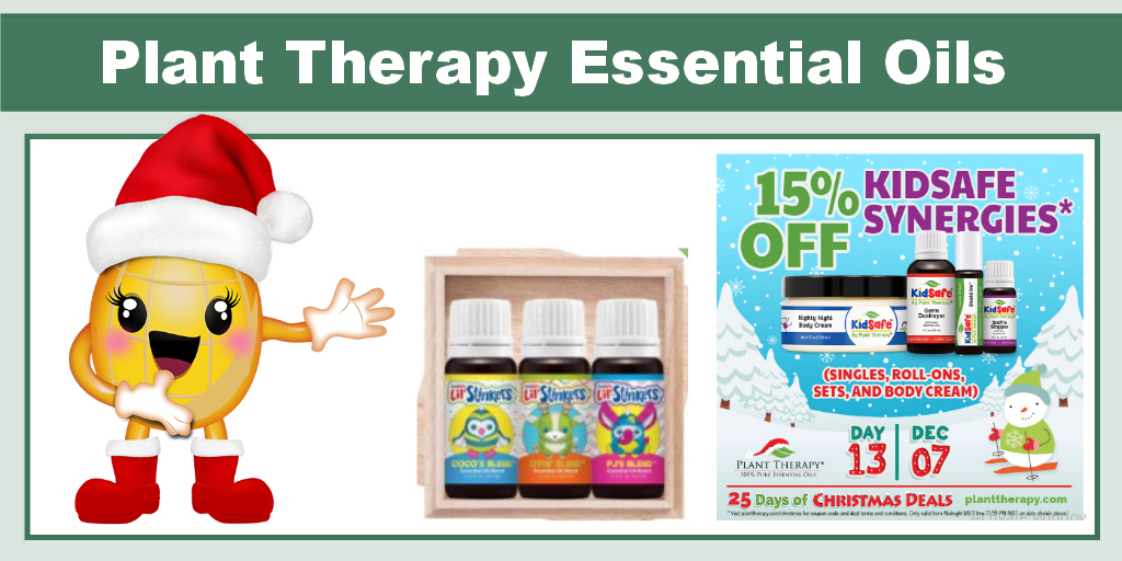 Plant Therapy 15% off Kidsave Synergies