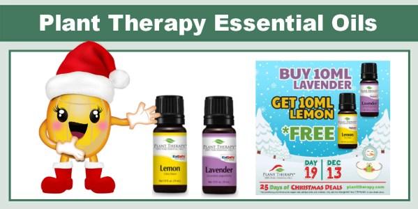 Plant Therapy Buy Lavender Get Lemon FREE
