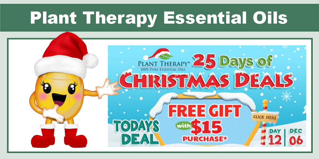 Plant Therapy Free Gift With $15 Purchase