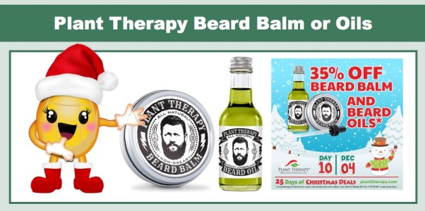Plant Therapy Beard Balm or Oils