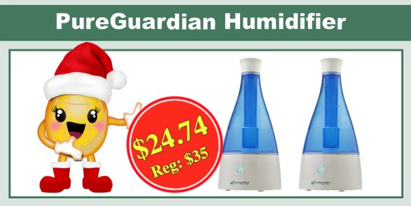 PureGuardian Ultrasonic Cool Mist Humidifier