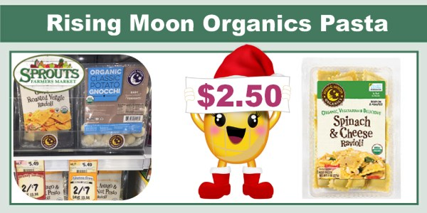 Rising Moon Organics Pasta Coupon Deal