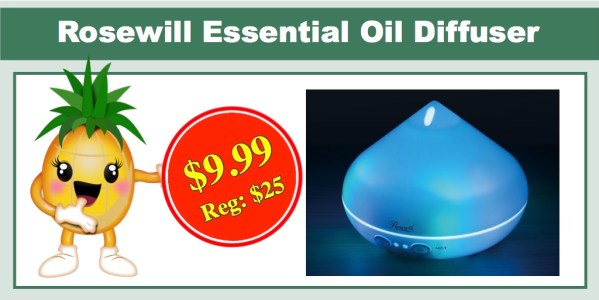 Rosewill Essential Oil Diffuser