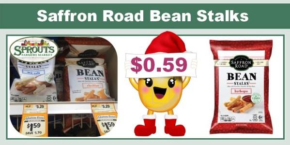 Saffron Road Bean Stalks Coupon Deal