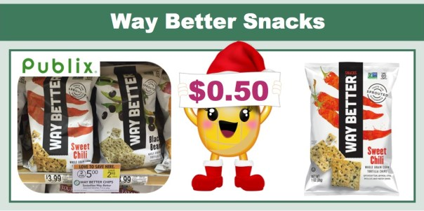 Way Better Snacks Coupon Deal