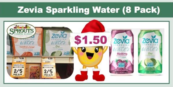 Zevia Sparkling Water Coupon Deal