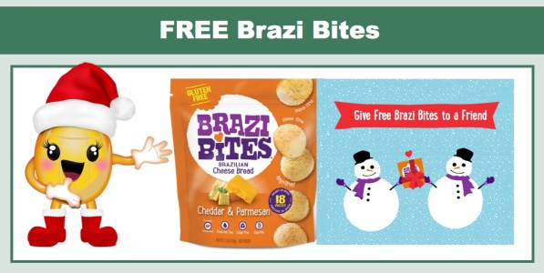 FREE Bag of Brazi Bites!