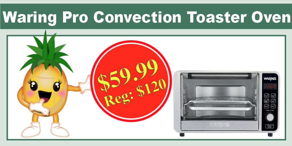 Waring Pro Convection Toaster and Pizza Oven