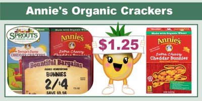 Annie's Organic Crackers Coupon Deal