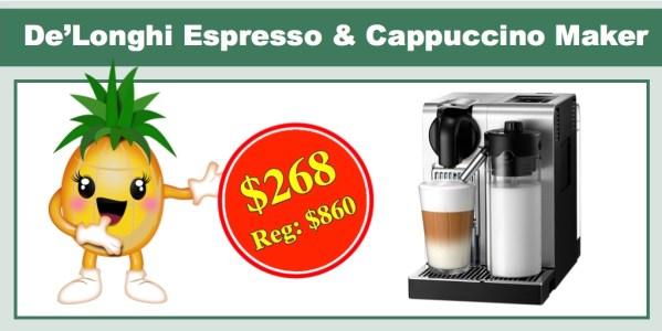 De'Longhi EN750MB Nespresso Espresso & Cappuccino Maker