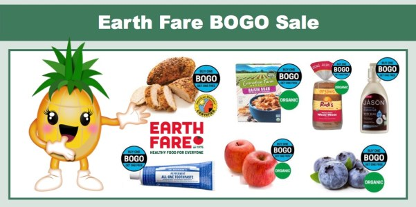 Earth Fare BOGO Sale