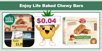 Enjoy Life Baked Chewy Bars Coupon Deal