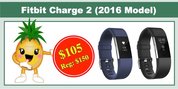 Fitbit Charge 2 Activity Tracker + Heart Rate (2016)