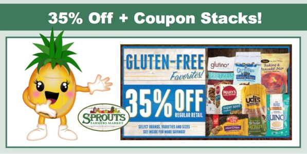 Sprouts - 35% off Gluten Free Favorites + Coupon Stacks!