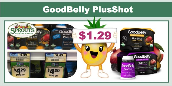 Goodbelly Probiotic PlusShot Coupon Deal