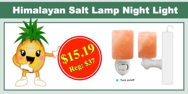 Amazon Lightning Deal: Himalayan Salt Lamp Night Light