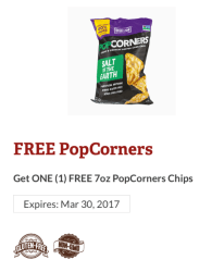 FREE PopCorners Chips