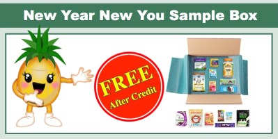 New Year New You Sample Box (14 Nutrition and Wellness Samples)