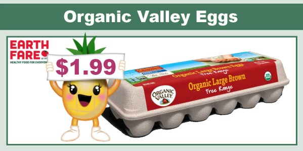 Organic Valley Eggs coupon deal