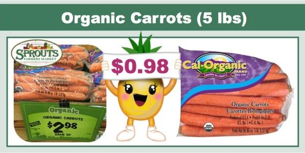 Organic Carrots Coupon Deal