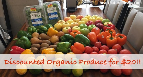 Organic Produce for $20