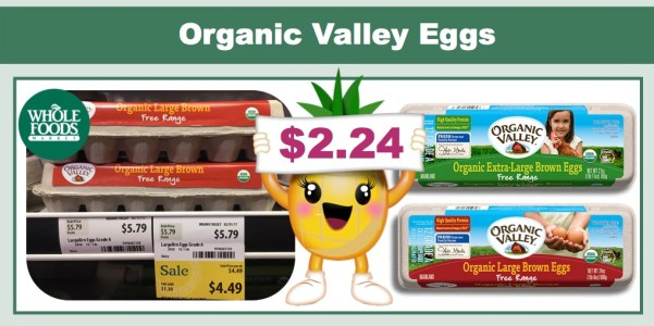 Organic Valley Organic Eggs Coupon Deal