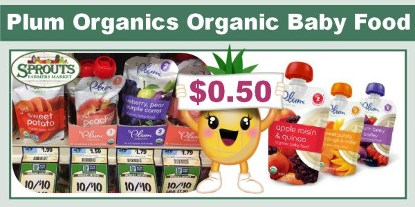 Plum Organics Organic Baby Food Coupon Deal