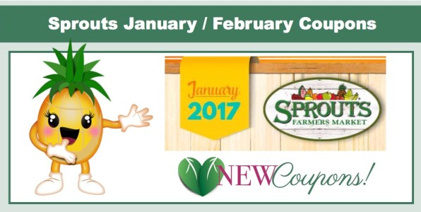 New Sprouts Coupons for January/February!