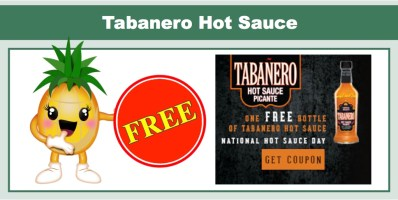 Tabanero Hot Sauce Coupon